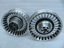 "Set Pair Harley Davidson Knuckles Touring Wheels 17""x3.00"" front 16""x5.00"" rear"