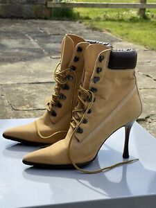 Manolo Blahnik Oklamod Boot (iconic Timberland Boot)