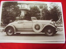 1931 LINCOLN ROADSTER   BIG 11 X 17  PHOTO /  PICTURE