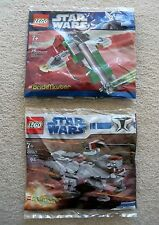 LEGO Star Wars - Rare - Brickmaster - AT-TE Walker 20009 & Slave I 20019 - New