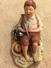 Norman Rockwell Figurine *Lazybones* The Saturday Evening Post September 6, 1919