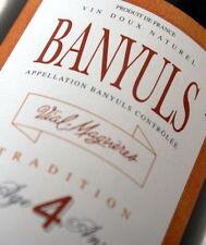 2 bottles BANYULS 4 ANS DOMAINE VIAL MAGNERES
