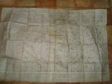 HUGE Vintage Map 2 Stuck Together to Make One Askrigg+Settle & Ripon 1951-53