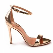 Schutz Cadey - Lee Bronze Leather Sandal Pumps 5.5M 5.5 NEW $170.