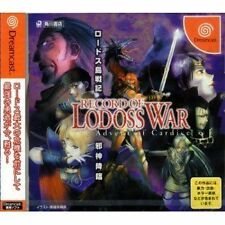 (Used) Dreamcast Record of Lodoss War: The Advent of Cardice [Japan Import]