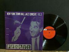 Nueva York Ayuntamiento Jazz Concierto Vol. 2 varios 77 Etiqueta Raro casi Perfecto!