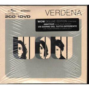 Verdena 2 CD DVD WOW Deluxe Edition Universal 0602527808642 Sigillato