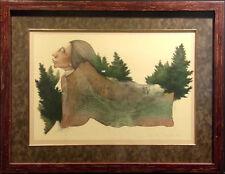 Frank Howell Sedona Autumn Custom Framed Original Lithograph Art SUBMIT OFFER