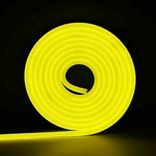 16ft Dc12V Yellow Flex Silicone Led Rope Lights for Holiday Valentine Decor - Us