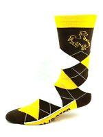 Wyoming Cowboys NCAA Argyle Crew Dress Socks