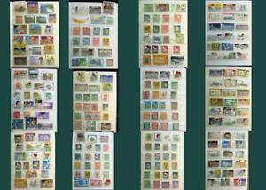 Stamp Collection From New Zealand & Some From United States, Free Shipping