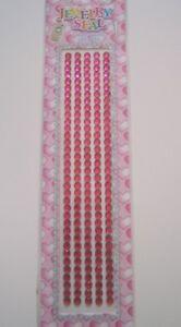 Red Adhesive Cell Phone Crystal Rhinestone Bridal Sticker Craft 1GR 180pc