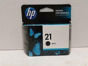 Genuine HP 21 Black Ink Cartridge Original OEM Expired FEB 2014 (Sealed).