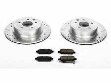 For 2009-2015 Nissan 370Z Brake Pad and Rotor Kit Rear Power Stop 84432YG 2010