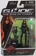 "BARONESS Attack On Joe Pit GI JOE Rise Of Cobra 2008 3.75"" Inch Action FIGURE"