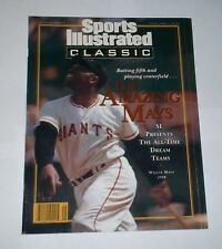 1992 NEWSSTAND ! Sports Illustrated WILLIE MAYS San Francisco Giants  ! No Label