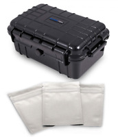 "Medium Smell Proof Case 8"" Odor Resistant Travel Storage Stash Box Container"