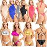 Sexy Women Bikini Mesh Swimwear Swimsuit Bodysuit One Piece Bathing Suit Beach