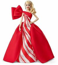 2019 Holiday Barbie Doll - Blonde Curls Mattel NEW FREE PRIORITY SHIPPING