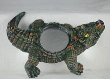 CROCODILE/ALLIGATOR MAGNIFYING GLASS - DESKTOP GIFT - READING - STAMPS - CRAFTS