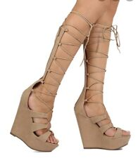Breckelles wedges Size 8.5