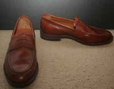 J.CREW LUDLOW PENNY LOAFERS SIZE 8M ENGLISH TAN A4362