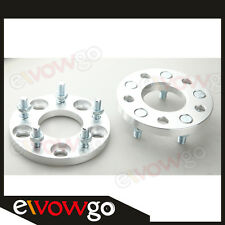2PCS 15mm Wheel Adapter Spacer For Mitsubishi ASX Eclipse Evo Aluminum