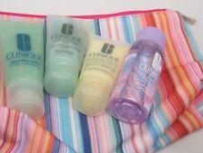 5 Clinique Lotion,Body Exfoliator,Facial Soap,Makeup Remover 1oz/1.4oz/1.7oz+Bag