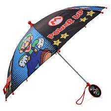 Nintendo Little Boys Mario And Luigi Character Rainwear Umbrella, Age 3-7