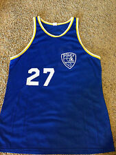VTG 70's 80's Riverside California Police Basketball Jersey Rare Badge Southern