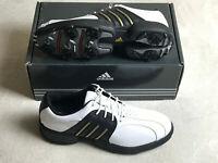Adidas Tour Traxion Waterproof Men's Golf Shoes Men's Size 8 M Black White NEW