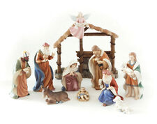 ROYAL DOULTON CHRISTMAS MUSICAL NATIVITY SET SMALL(10PIECES) RRP$399