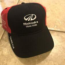 Mahindra Tractors Ball Cap Owners Club Mens Hat Cap Black Adjustable
