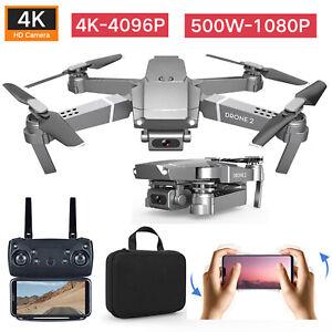 E68 RC Done Drohne 4K HD Wide Angle Kamera WiFi 1080P FPV Video Quadcopter/Akku