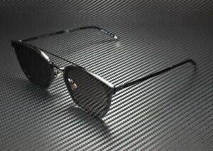 SAINT LAURENT YSL 28 Metal 001 Rectangular Sqr Black Grey 61mm Unisex Sunglasses