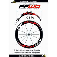 Kit adesivi/stickers per cerchi Fast Forward 8pezzi profilo 60mm