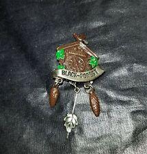 Vintage German Black Forest Hat Pin - Cuckoo Clock