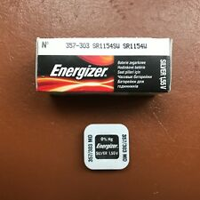 10 x Energizer 357 303 Battery Watch Batteries Silver Oxide SR44W G13 LR44H