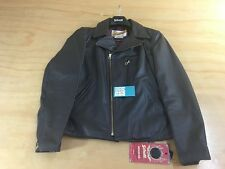 SUPREME x SCHOTT NYC PERFECTO GENUINE LEATHER JACKET NWT BROWN SS13 2013