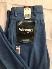 Vtg Wrangler Hero Jeans Mens 42x30 Classic Fit Stretch Flex Waist USA Made NWT