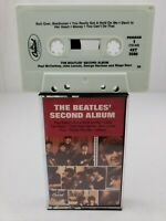 THE BEATLES SECOND ALBUM - MINT - Rare Vintage Cassette Tape Capitol 4XT 2080