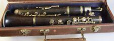 CLARINET im Koffer KLARINETTE KLARNET Musikinstrument 1935 G.H. Hüller 32008