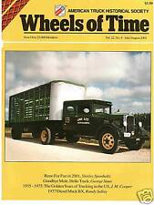 US Army use of Trucks, Lime Truck Ford F7, Mack BX