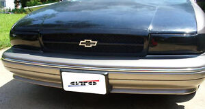 Fits 91-96 Caprice Impala SS GTS Acrylic Smoke Headlight Covers 2pc Set GT0159S