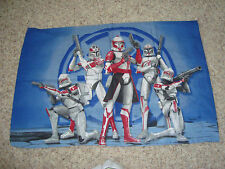 PILLOW CASE STAR WARS, On Both Sides, OR FOR CRAFTS, MATERIAL SEWING SMOKE FREE