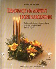 DT Dekoracje Adwent I Boze Narodzenie Aniko In Polacco