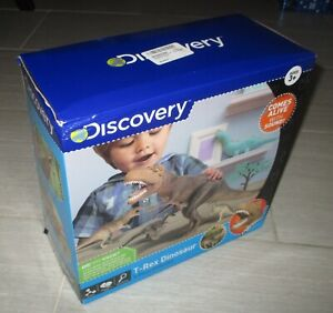 DISCOVERY KIDS T-Rex Dinosaur 5-Piece Collection Sound Activated Toy Set *NEW*