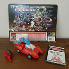 1986 G1 TRANSFORMERS AUTOBOT TARGETMASTER POINTBLANK W/PEACEMAKER COMPLETE