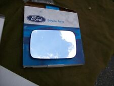 GENUINE FORD Driver's Exterior Mirror Glass Merkur XR4Ti With Heated Mirrors