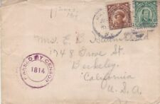 1919 Philippines #244 or #264,#290 on censored cover to US *d